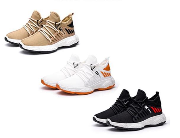 2020 new men's shoes spring summer autumn men's casual sports mesh shoes Korean