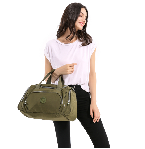 TEGAOTE Men's Travel Bag Zipper Luggage Travel Duffle Bag 2017 Latest Style Larg