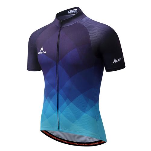 MILOTO 2018 Cycling Jersey Tops Summer Racing Cycling Clothing Ropa Ciclismo