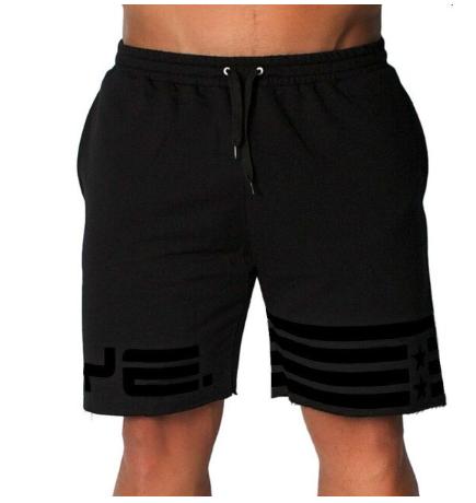 Mens gym cotton running shorts men Run jogging sports Fitness bodybuilding Sweat