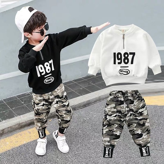 Boys Clothes Sets Autumn Children's Clothing Set Sweatshirt  8 9 10 11 12 Years