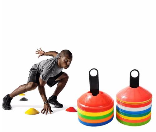 10pcs/lot 19cm 7.41inch Cones Marker Discs Soccer Football Training Tools Soccer