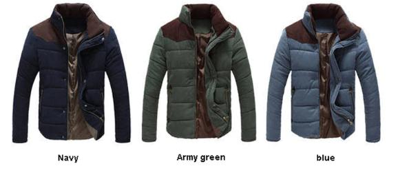 2019 Winter Jacket Men Warm Causal Parkas Cotton Coat Male Outwear Coat Size M-4