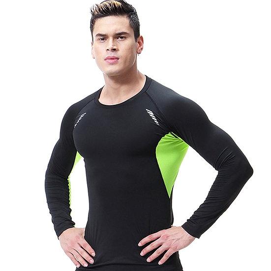 Running T-Shirts Men T-Shirt Compression Rashguard Men's Gym TShirt Sport