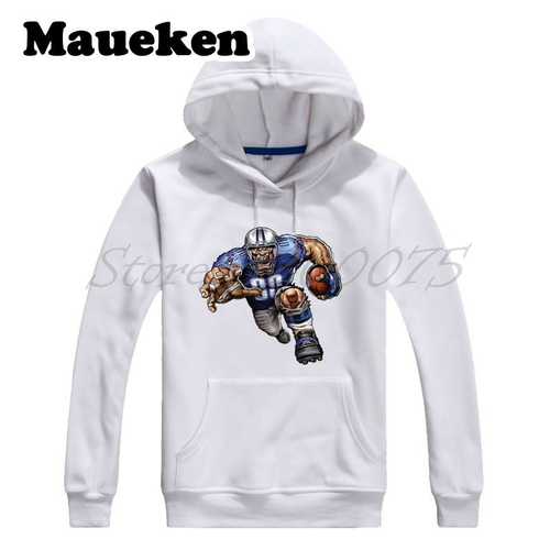Men Hoodies Strong Trampling Titan Sweatshirts Hooded Thick for Tennessee fans