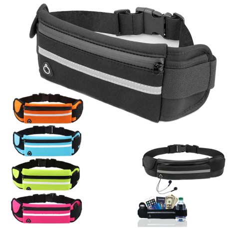 Travel multifunctional Sports pocket mini fanny pack for men women Portable conv