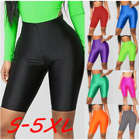 Plus Size Biker Shorts 5XL 2020 Sexy Jogger Shorts Cycling Dancing Gym Biker Sho