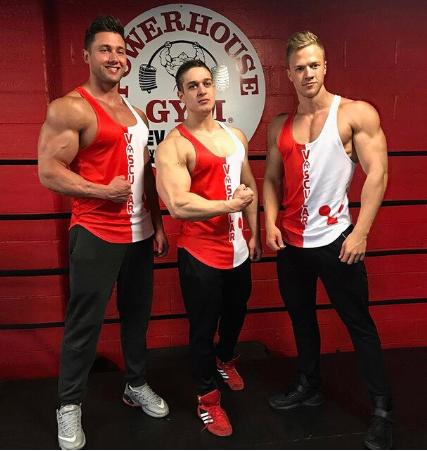 2018 Sleeveless Sport T Shirt Men Gym Top Men Running Vest Tshirt Sport Tank Top