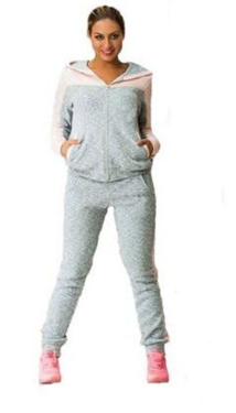 FGL Spring Autumn Two-piece Tracksuit Jogging Suits For Women Sport Suits Patchw