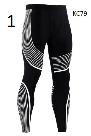 New Mens Running Tights Compression Pants Rashgard MMA Gym Tight Joggers Yoga Le