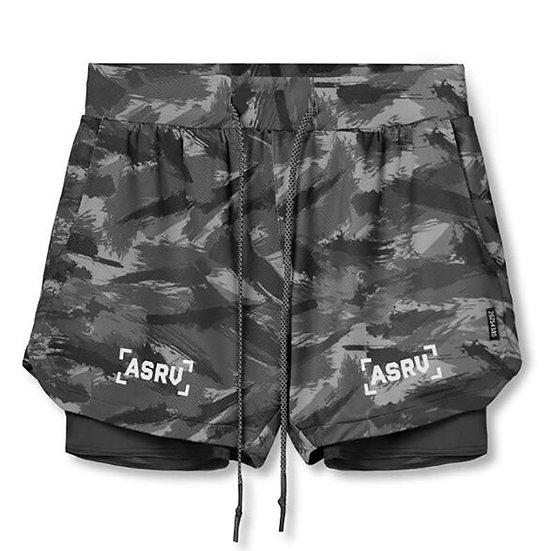 2020 Summer Running Men Zip Pocket Sports Jogging Fitness Shorts Quick Dry Mens