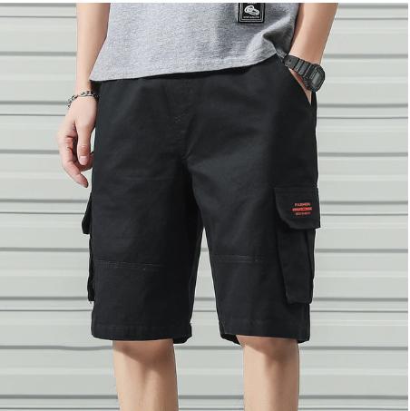 Anbican Fashion 2020 Summer Cargo Shorts Men Cotton Casual Shorts Male Loose Sho