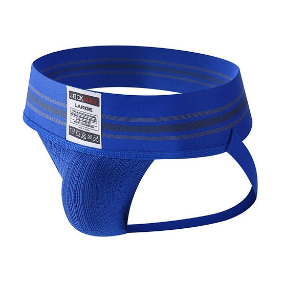 Mens Thongs and G Strings Wide Belt Breathable Elastic Big Penis Pouch Men