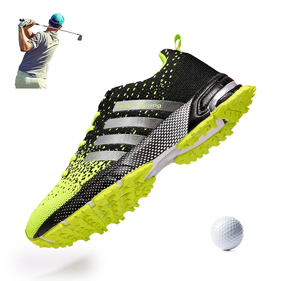 Men Golf Shoes Breathable Summer Outdoor Grass Walking Sneakers Professional