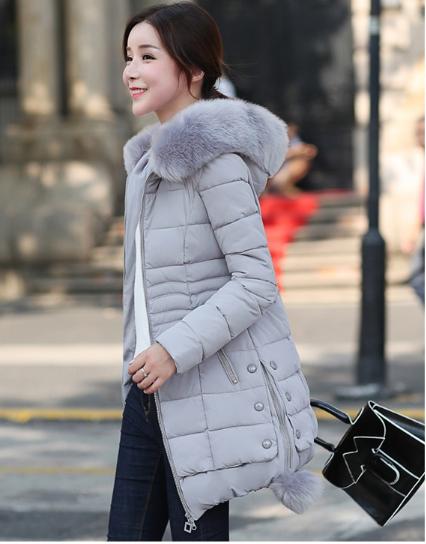Faux Fur Parkas Women Down Jacket New 2019 Winter Jacket Women Thick Snow Wear W