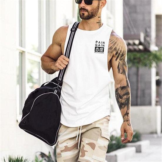 Muscle GYM Running Vest Men Fitness Sleeveless Undershirt Bodybuilding Tank Tops