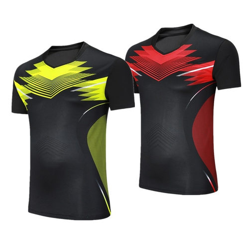 Female/Male Badminton shirts Trainning clothing,table tennis short sleeve sports