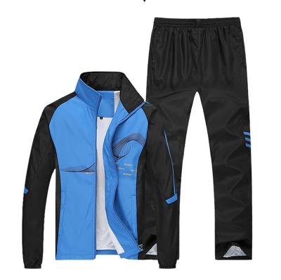 2018 Autumn Running Sets Men Sport Suits Sportswear Set Polyester Fitness Traini