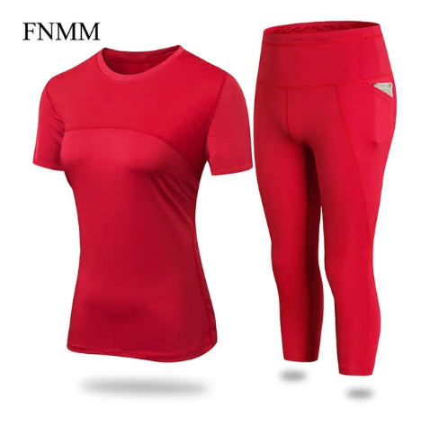 FNMM 2018 New Yoga Pants Pocket Leggins Sport Women Fitness Push Up Running Pant