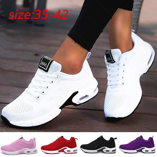 Fashion Women Lightweight Sneakers Running Shoes Outdoor Sports Shoes Breathable