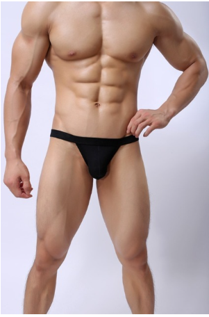 Sexy Solid Male Underwear Modal 3XL Large Size Gay Man Briefs Soft Low Waist Men