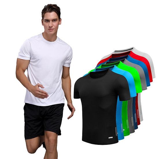 Shirt Homme Running Men Designer Quick Dry Tshirts Slim Tops Sport Mens Fitness