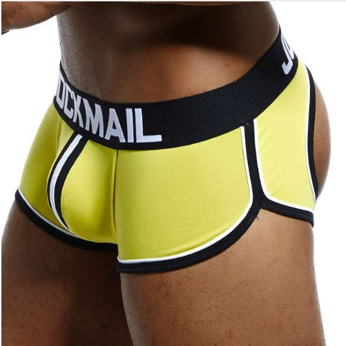 JOCKMAIL Brand Open Backless crotch G-strings Men Underwear Sexy Gay Pen
