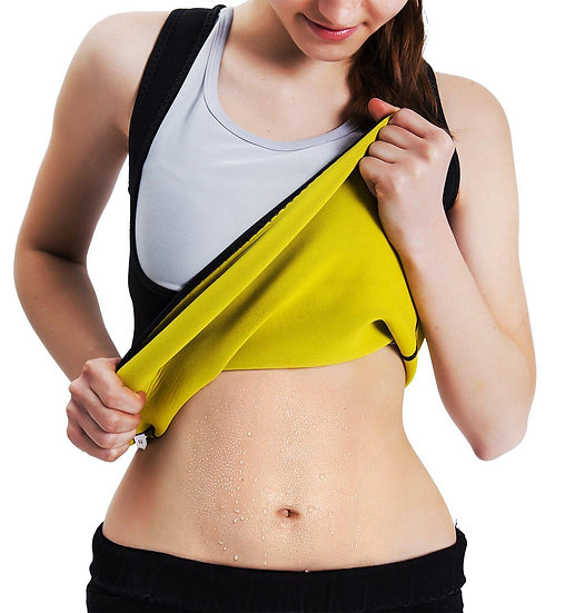 S-5xl Women's Body Shaper Slimming Waist Slim Vest Tummy Fat Burnning Tank Top