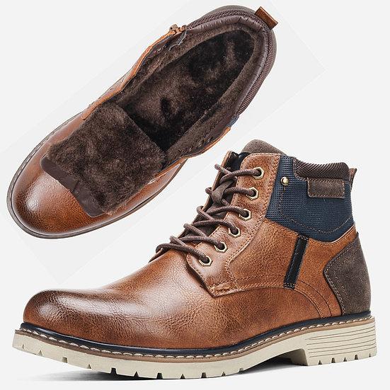 40-46 Men's Winter Shoes Warm 2020 Comfortable Non-Slip Men Snow Boots