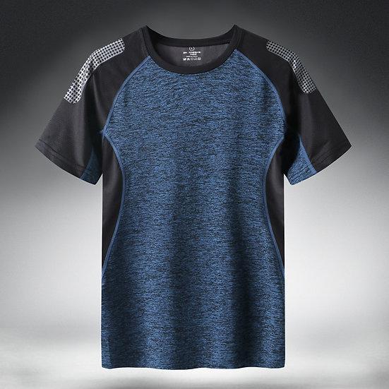 Quick Dry Sport T Shirt Men 2020 Short Sleeves Summer Casual Cotton Plus Asian