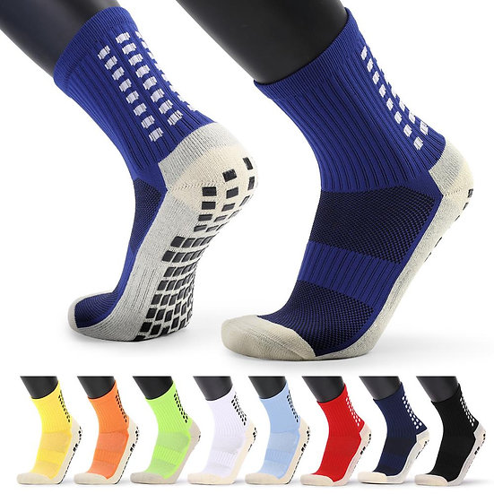 New Men's Sports Socks Thick Towel Bottom Men's Mid-Tube Dispensing Non-Slip