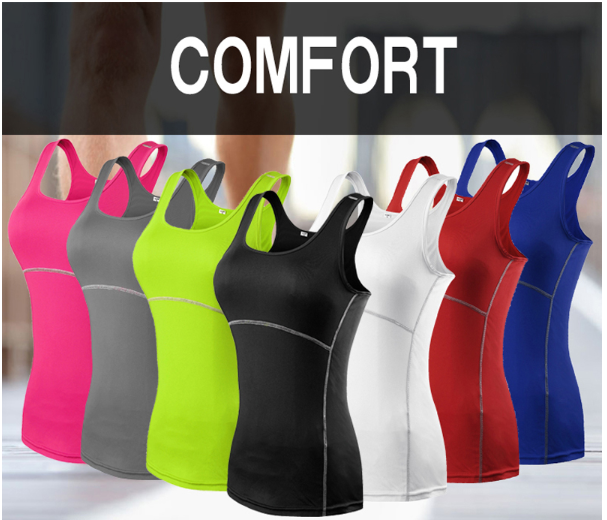 2019 Yoga Tops Vest Women Sports Top Tank Duick Dry Fitness Woman Sport Shirt Gy