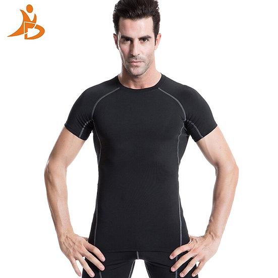 Yd 2017 Logo Custom Men'S Short Sleeve T-Shirts Tennis Soccer Jerseys Compressio