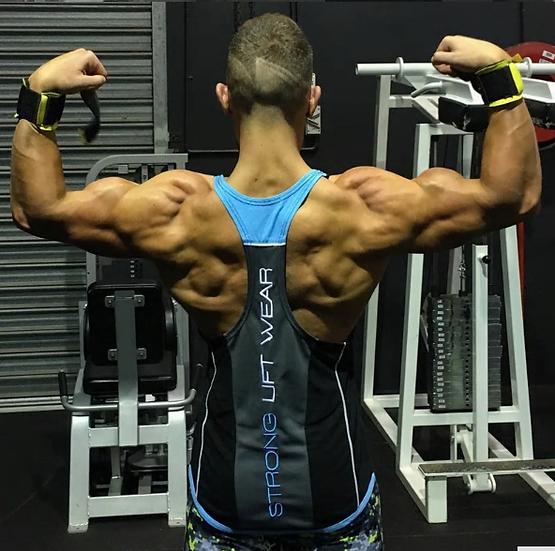 Gym running vest bodybuilding clothing and fitness men undershirt solid stringer