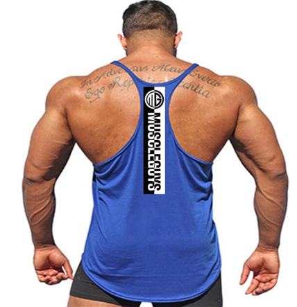 Gyms Clothing Fitness Singlets Men Bodybuilding Stringers Tank Tops Sleeveless S