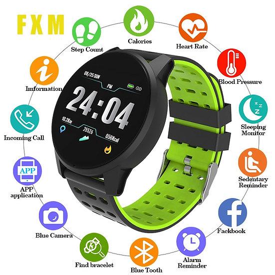 Top Sport Smart Watch Men Women Blood Pressure Waterproof Activity Fitness Track