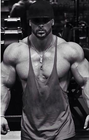 2018 New Men Gym Singlet Stringer Muscle Tank Tops Fitness Sport Shirt Mens Fitn