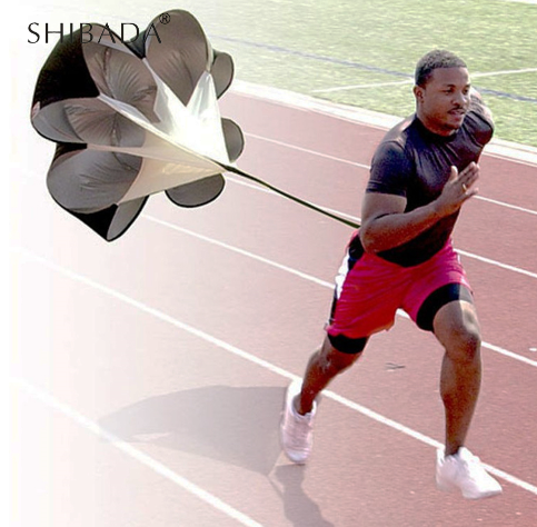 SHIBADA Adjustable Speed Training Resistance Umbrella Waist Belt Sports Running