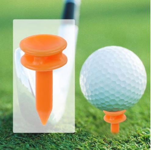 100Pcs/Set Portable to Carry Plastic 69mm Golf Tees Golf Training Aids Essential