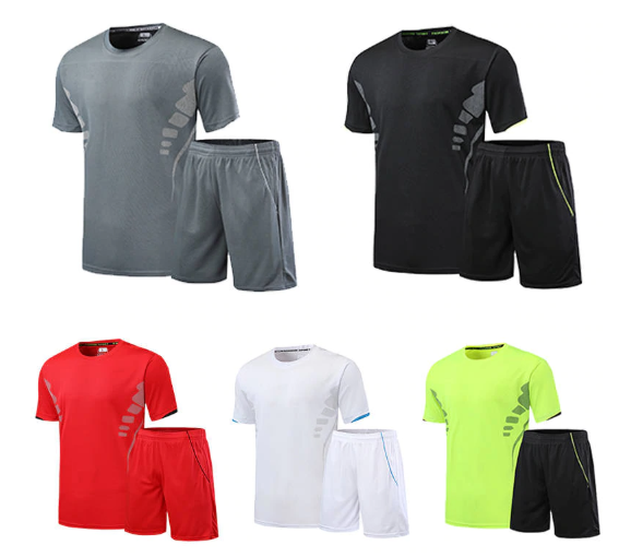 2020 Summer Men's Shorts + T shirt Men's Suit Sports Sets Tracksuit Clothing Pri