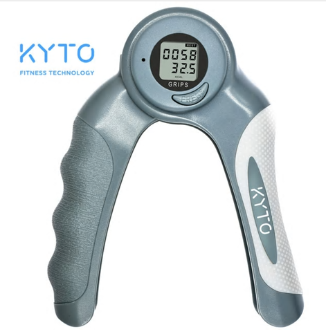 KYTO Adjustable Hand Grip Increase Strength Spring Finger Pitch Digital Arm Exer