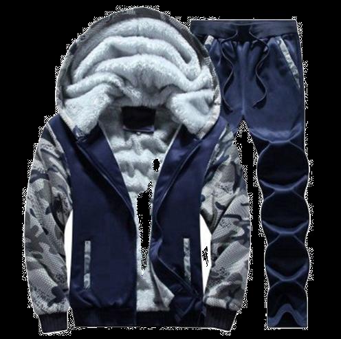 Winter Men Hooded Coat 2020 Thick Warm Jackets Parka Men Windbreaker Two Pieces