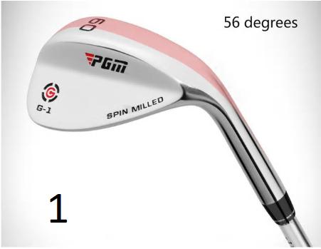 CNC Face Groove PGM Golf Wedges Club Occupation Shaft /Cutter/Wedge 56/60/64 Deg