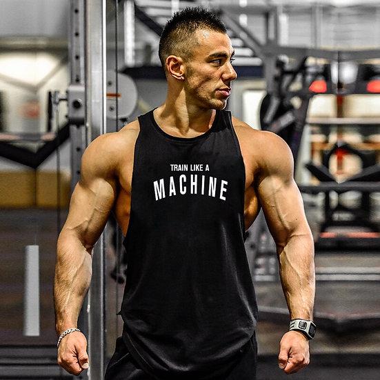 New Brand Summer Mens Gym Tank Top Bodybuilding Sleeveless Shirt Cotton Street