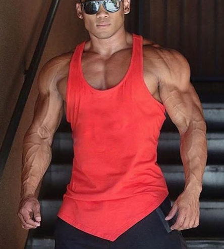 Brand Solid Color Clothing Gyms tank top men Fitness Sleeveless Shirt Cotton bla