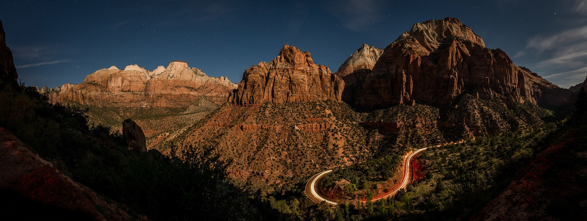 Zion Canyon, Utah