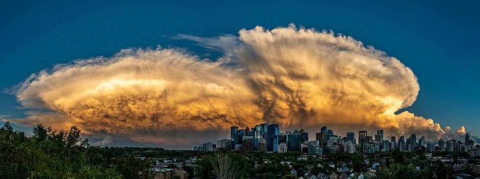 Tornado Cell, Calgary