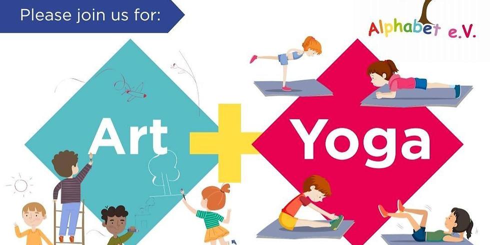 Art and Yoga Workshop