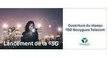 Ouverture du réseau 5G chez Bouygues Télécom