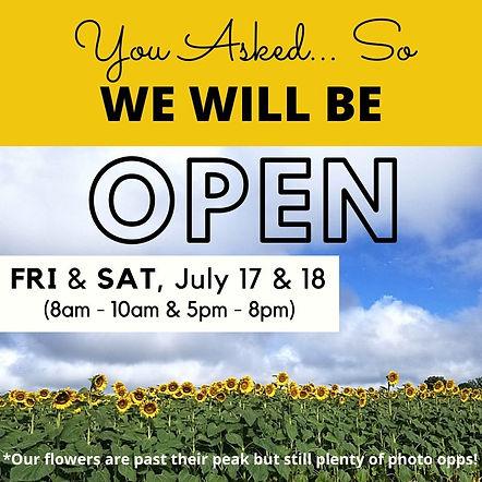 FESTIVAL Fri - Sun, July 10 -12 (9am-8pm